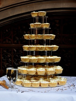 Golden Wedding Cupcakes Birmingham