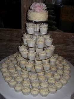 Wedding Cupcake Tower Birmingham